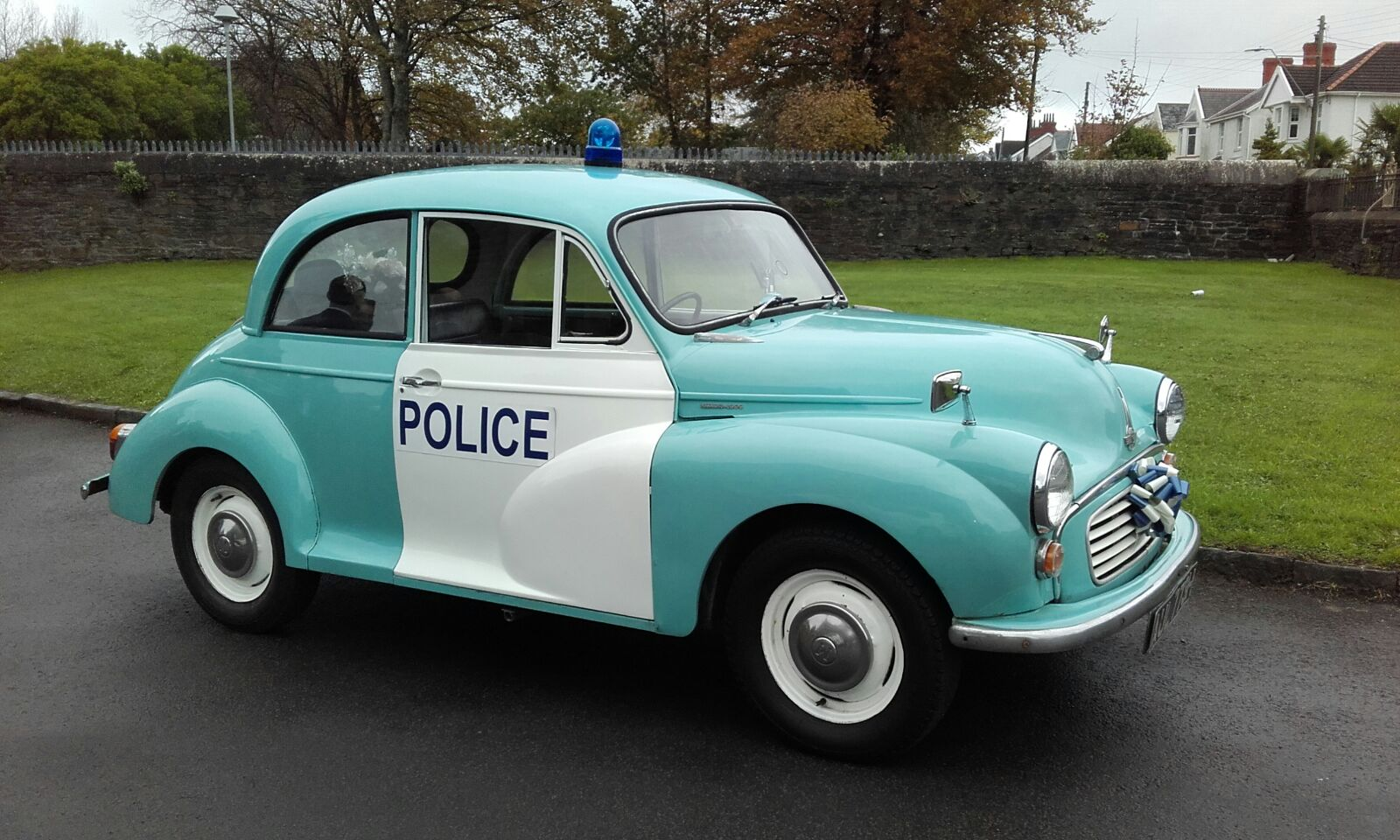 Wedding Police Car Hire