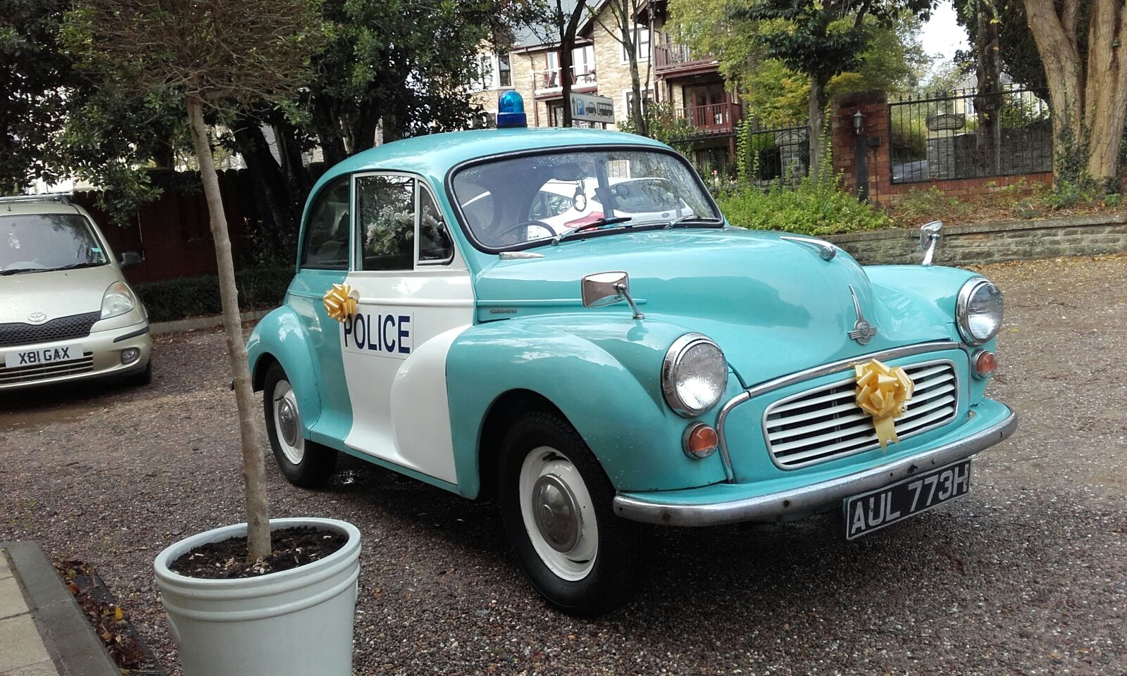 Police Car Hire