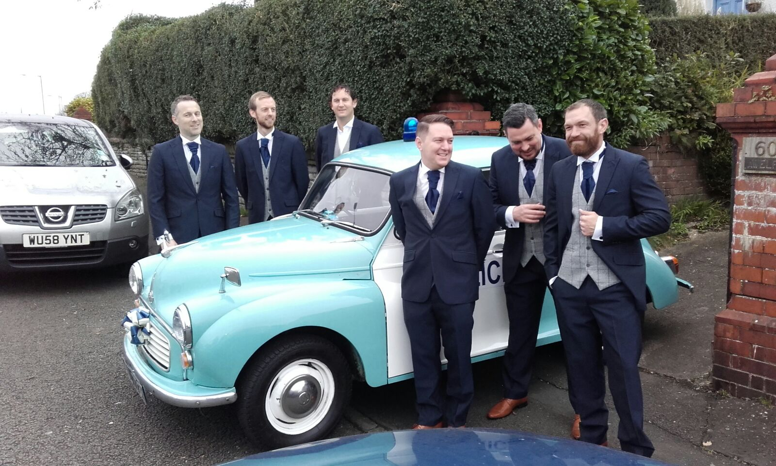 Wedding Police Car Hire