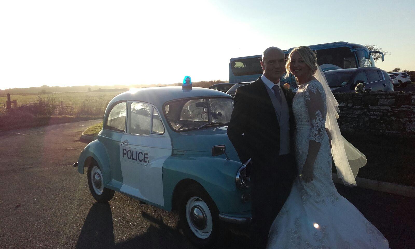 Police Wedding Car Hire