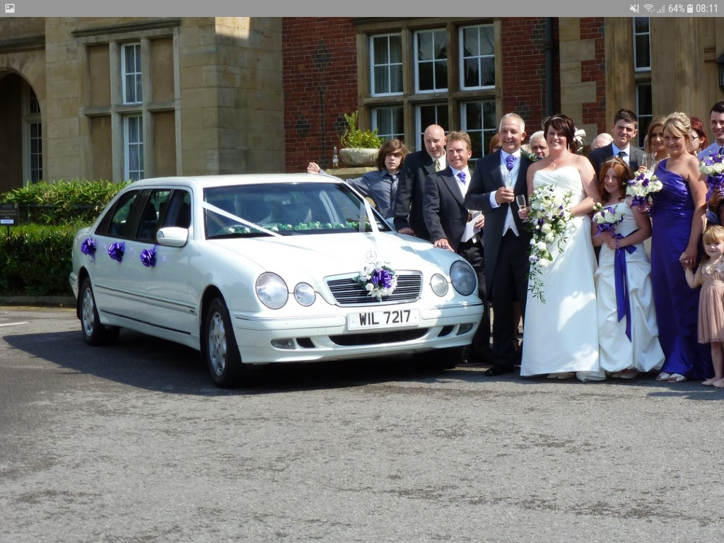 Mercedes S Class Limo Wedding Car Hire