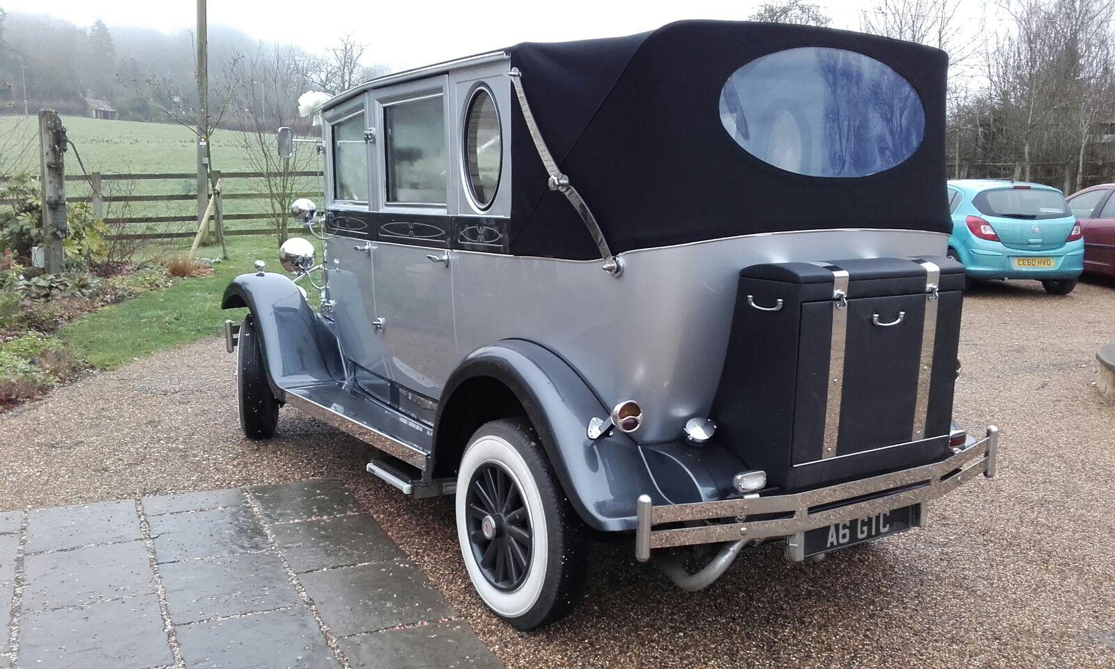 Molly Wedding Car Hire Back