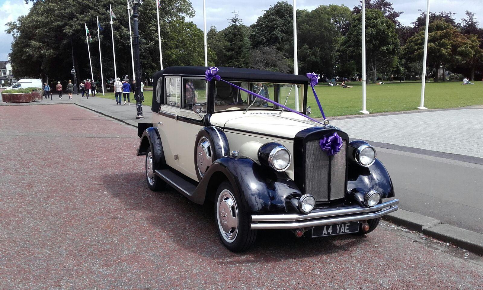 Bonnie Wedding Hire Car