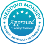 Wedding Monkey Approved - Blue