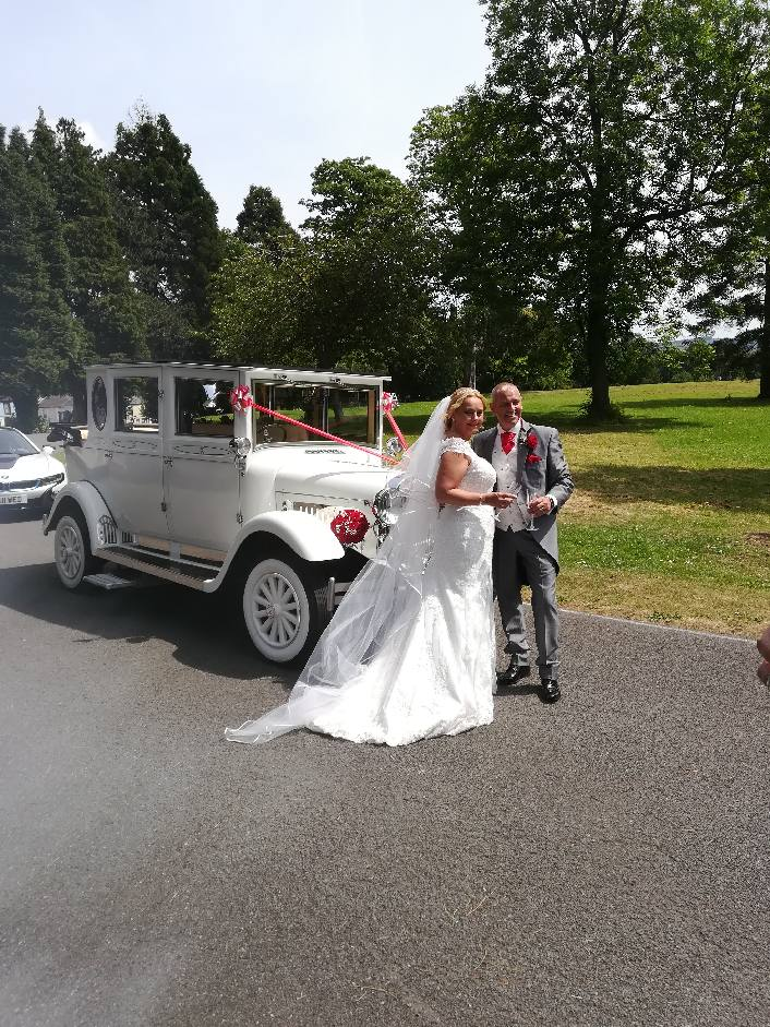 Emma and Lance at Aberdare Park