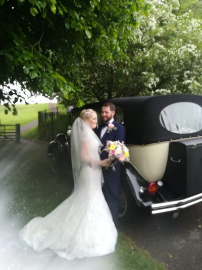 Gemma and Daniel at The Cawdor Llandilo