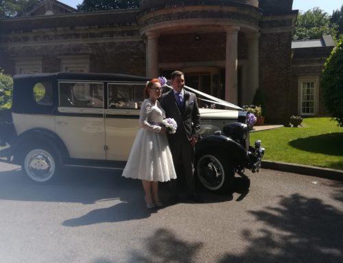 Mair and Gareth at Decourceys Manor