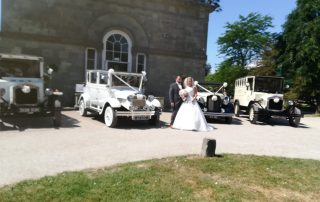 David and Gemma arriving at Margam Orangry3