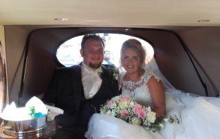 David and Gemma arriving at Margam Orangry3