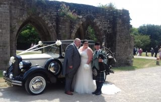 Gareth and Rachel at Margam Orangry
