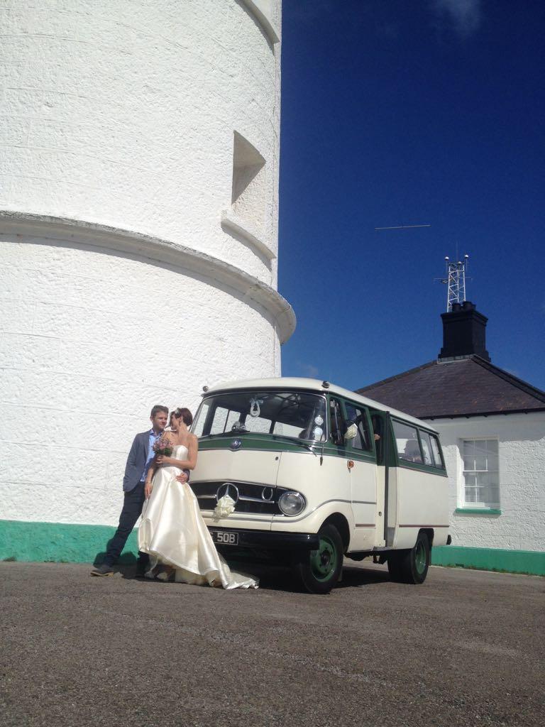 Rebecca and SEB Wedding Bus