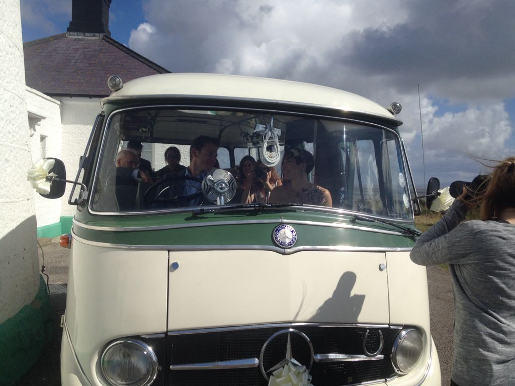 Rebecca and SEB Wedding Bus